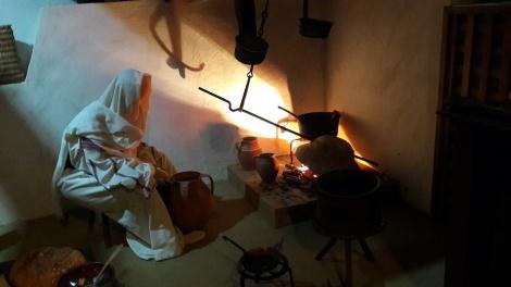 Vatra traditionala din oltenia cu tast